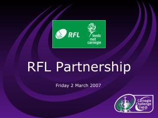 RFL Partnership