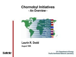 Chornobyl Initiatives - An Overview -