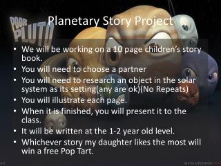 Planetary Story Project