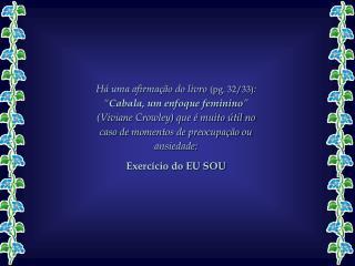 Exercício do EU SOU