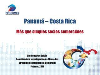 Panamá – Costa Rica