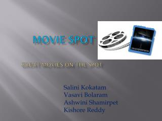 Movie Spot Great movies on the spot