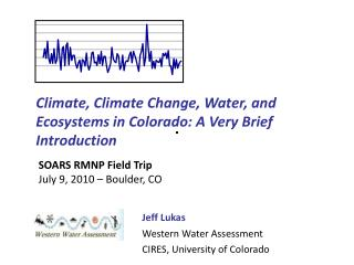 Climate, Climate Change, Water, and Ecosystems in Colorado: A Very Brief Introduction
