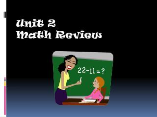 Unit 2 Math Review