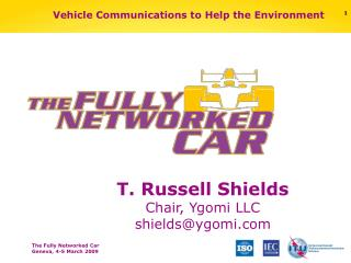 Vehicle Communications to Help the Environment