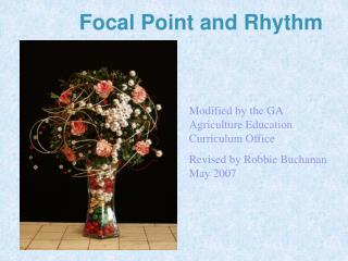 Focal Point and Rhythm