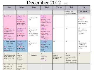 December 2012   12/12