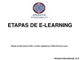 ETAPAS DE E-LEARNING