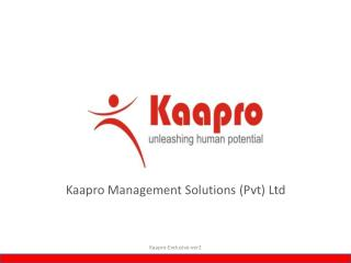 Kaapro Management Solutions Pvt Ltd