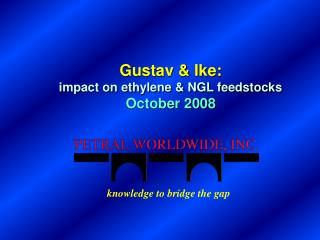 Gustav & Ike: impact on ethylene & NGL feedstocks October 2008