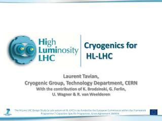 Cryogenics for  HL-LHC