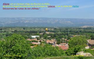 Alleins , est un charmant village des Bouches-du-Rhône,