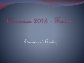 Comenius 2013 - Rennes