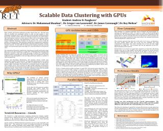 Scalable Data Clustering with GPUs
