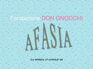 Fondazione DON GNOCCHI