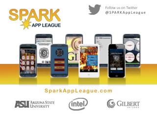 Follow us on Twitter @ SPARKAppLeague