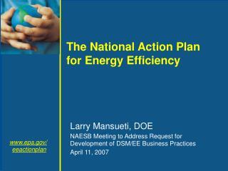 Larry Mansueti, DOE