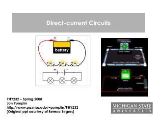 Direct-current Circuits