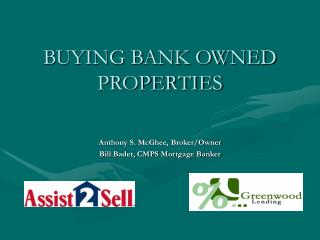 BUYING BANK OWNED PROPERTIES