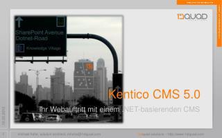 Kentico CMS 5.0