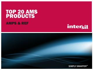 Top 20 AMS Products
