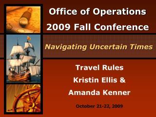 Travel Rules Kristin Ellis &  Amanda Kenner