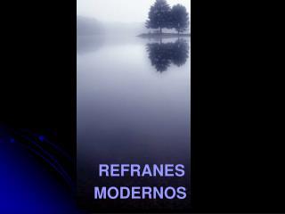REFRANES