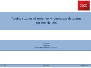 Ageing  studies of  resistive Micromegas detectors  for the HL-LHC