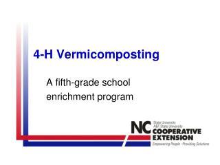 4-H Vermicomposting
