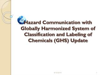 HazCom with GHS UPDATE