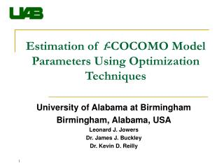 Estimation of  f -COCOMO Model Parameters Using Optimization Techniques
