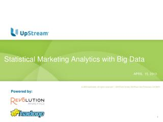 Statistical Marketing Analytics with Big Data