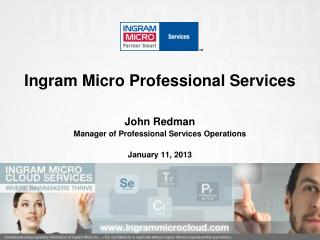 Ingram Micro Professional Services