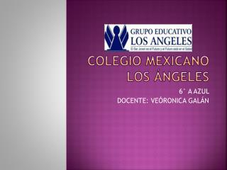 COLEGIO MEXICANO LOS ÁNGELES