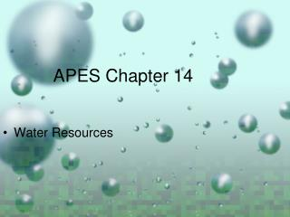 APES Chapter 14