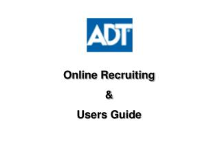 Online Recruiting & Users Guide
