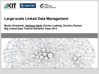 Large- scale Linked  Data Management