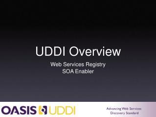 UDDI Overview