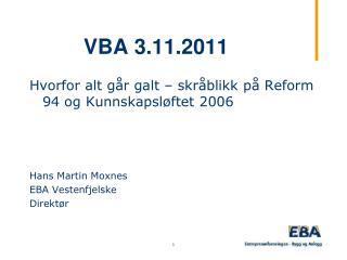 VBA 3.11.2011