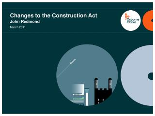 Changes to the Construction Act