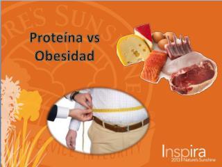 Proteína vs Obesidad