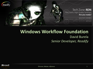Windows Workflow Foundation - Overview