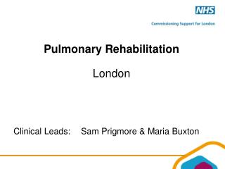 Pulmonary Rehabilitation London