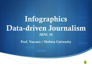 Infographics  Data-driven Journalism