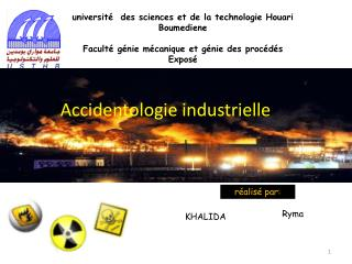 université  des sciences et de la technologie Houari  Boumediene