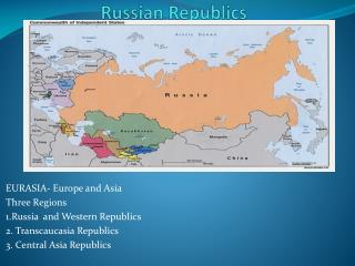 Russian Republics