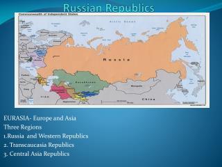 Russian Republics