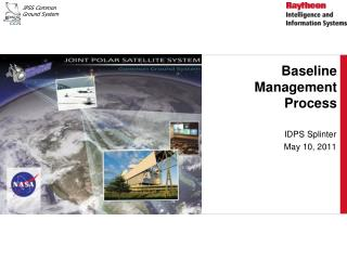 Baseline Management Process