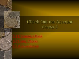 Check Out the Account Chapter 2