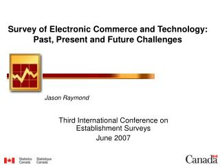 Survey of Electronic Commerce and Technology:  Past, Present and Future Challenges